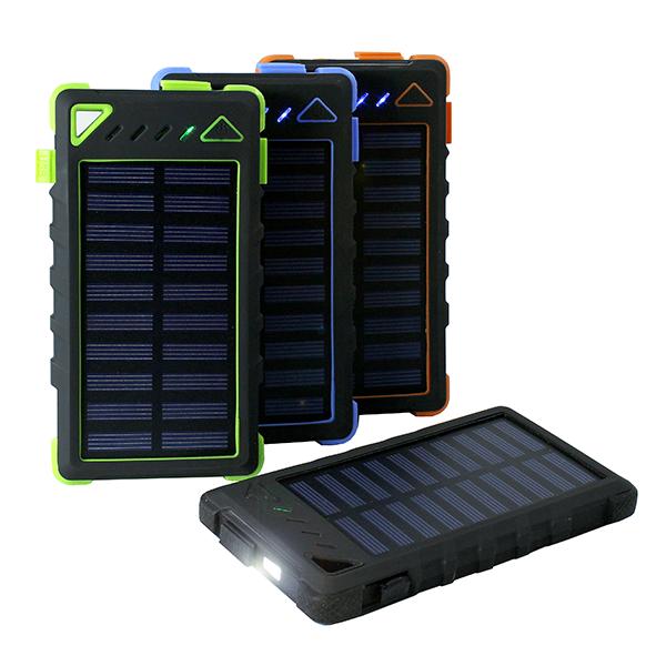 Solární nabíječka, powerbanka 30000mAh vodotěsná