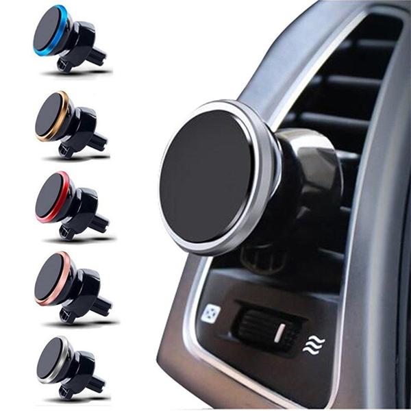 Magnetický držák mobilu do mřížky auta Colored