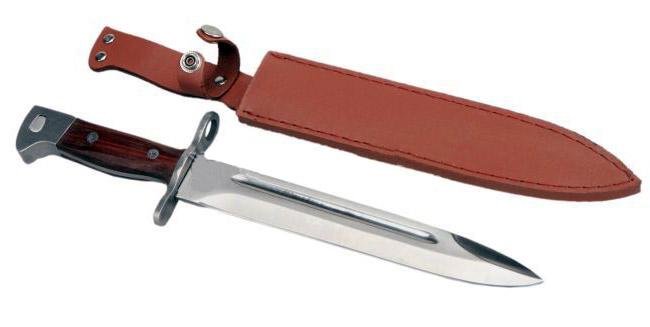 Nůž, dýka, bajonet 34 cm AK-47 CCCP